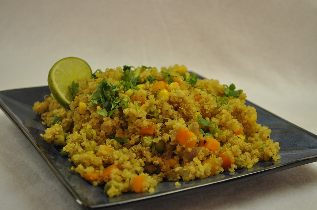 Recipe quinoa pulao the healthy indian diet for Quinoa recipes indian